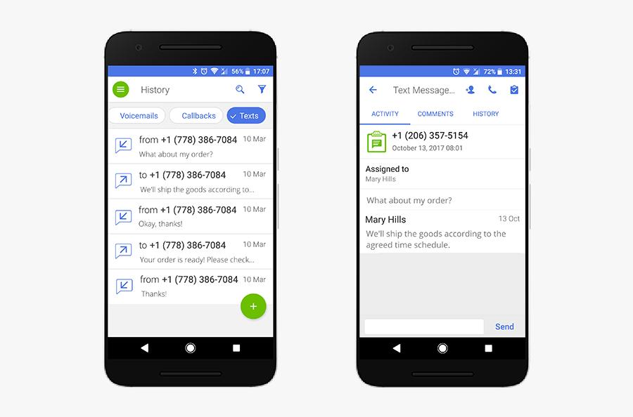 Business Text Messaging Messages.