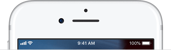 Guide To Icons and Symbols on iPhone Status Bar.