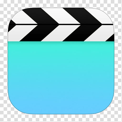 IOS Icons Updated , Videos, clapper board transparent.