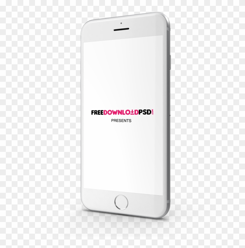 We Create Iphone 7 Silver Mockup For The Best Presentation.