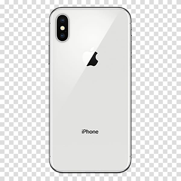 Apple A11 Face ID 4G, Iphone x back transparent background.