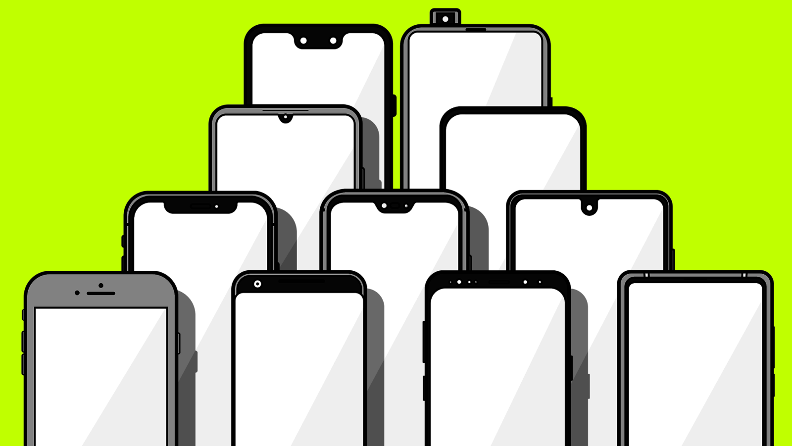 The Incredible Evolution of the Notch: From Bezel to All Screen.