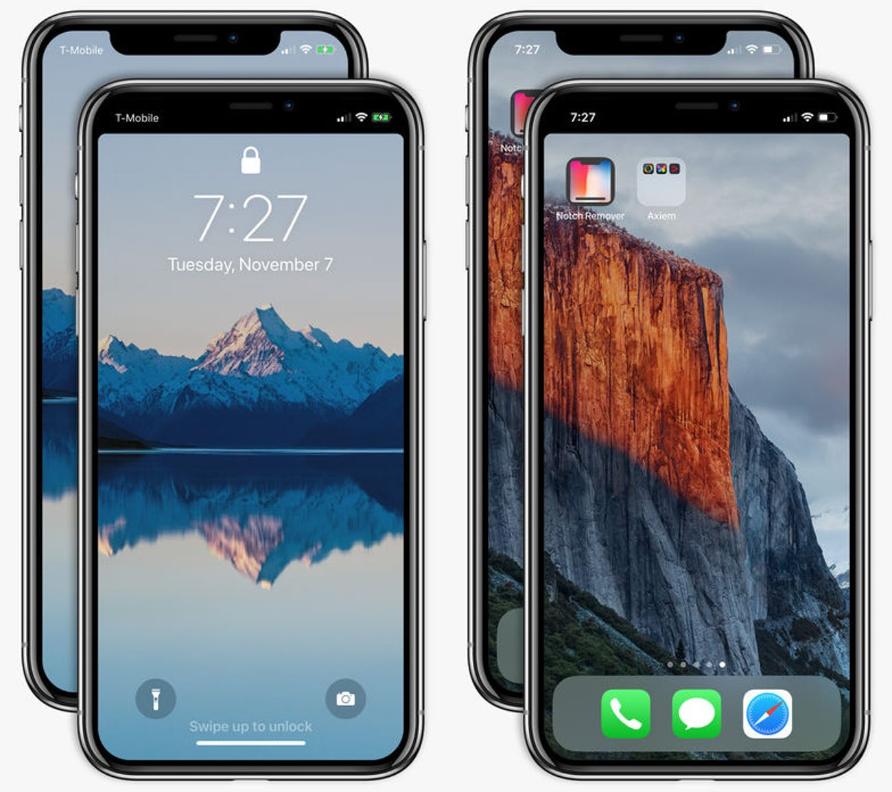iPhone X: Apple Approves Notch Remover App that Fixes.