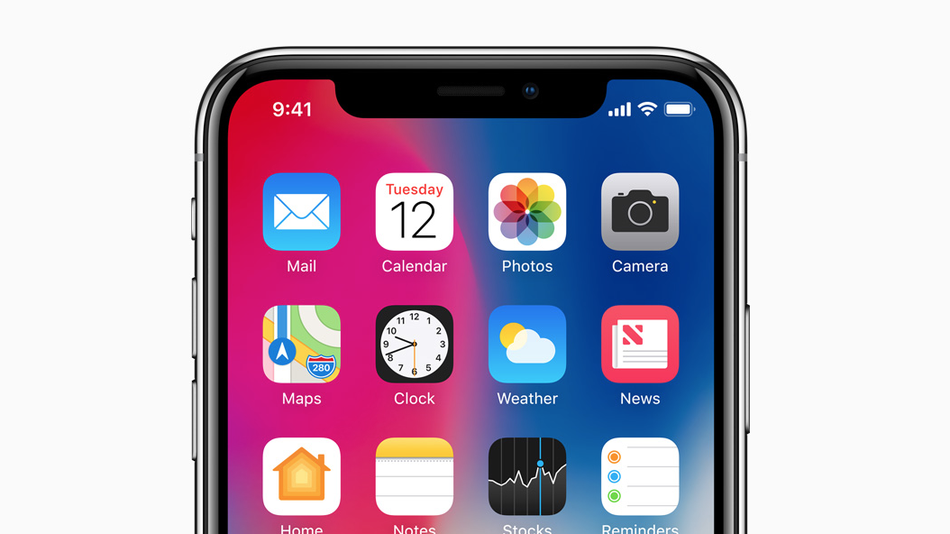 I finally understand what the iPhone X 'notch' is for.