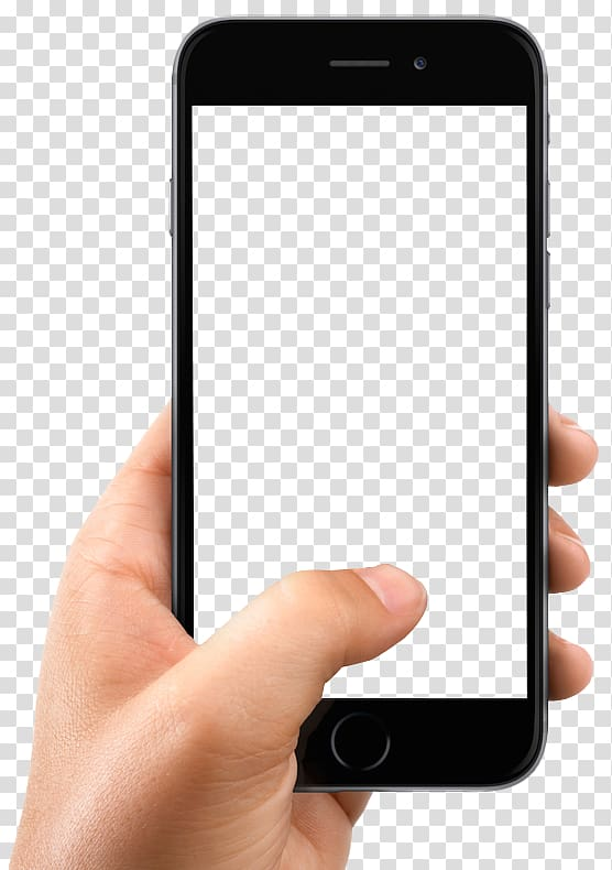 IPhone X Smartphone, Hand Holding Smartphone, person holding.