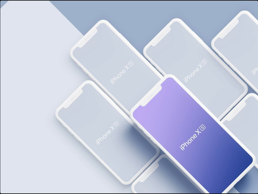 42 Best iPhone X, iPhone XS(Max) Mockups for Free Download[PSD+.