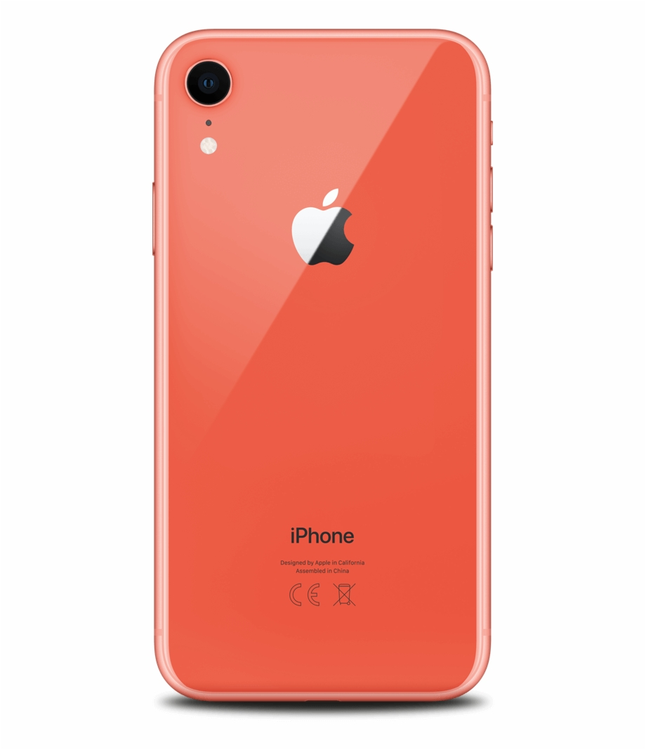 Coral Colour Iphone Xr Free PNG Images & Clipart Download #1454540.