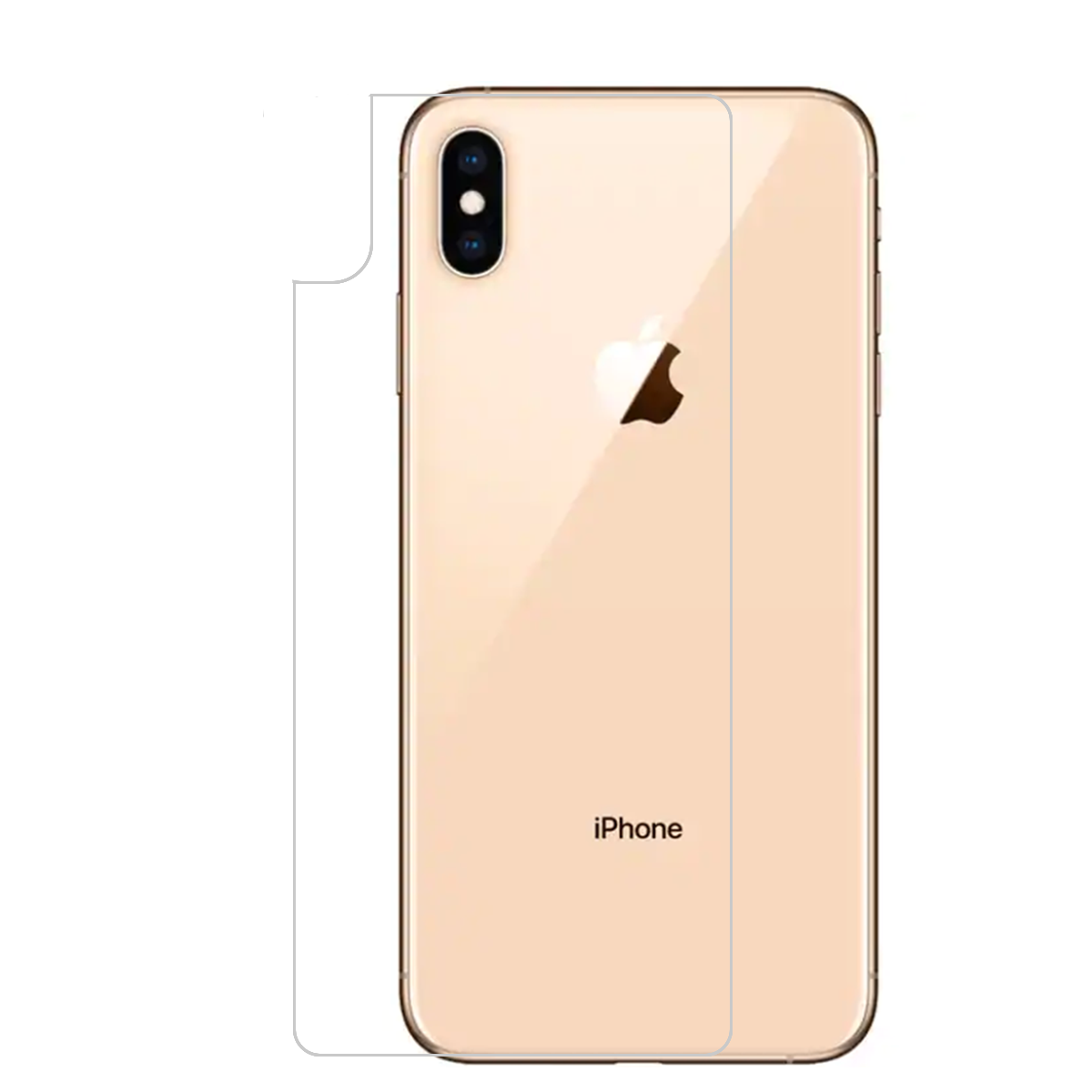 Details about 2x CLEAR PET Soft Back Film Screen Protector for Apple iPhone  XS XR XS Max.