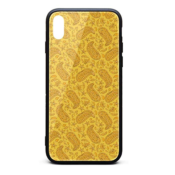 Amazon.com: Wheat Clipart Gold Paisley Phone Case for iPhone.