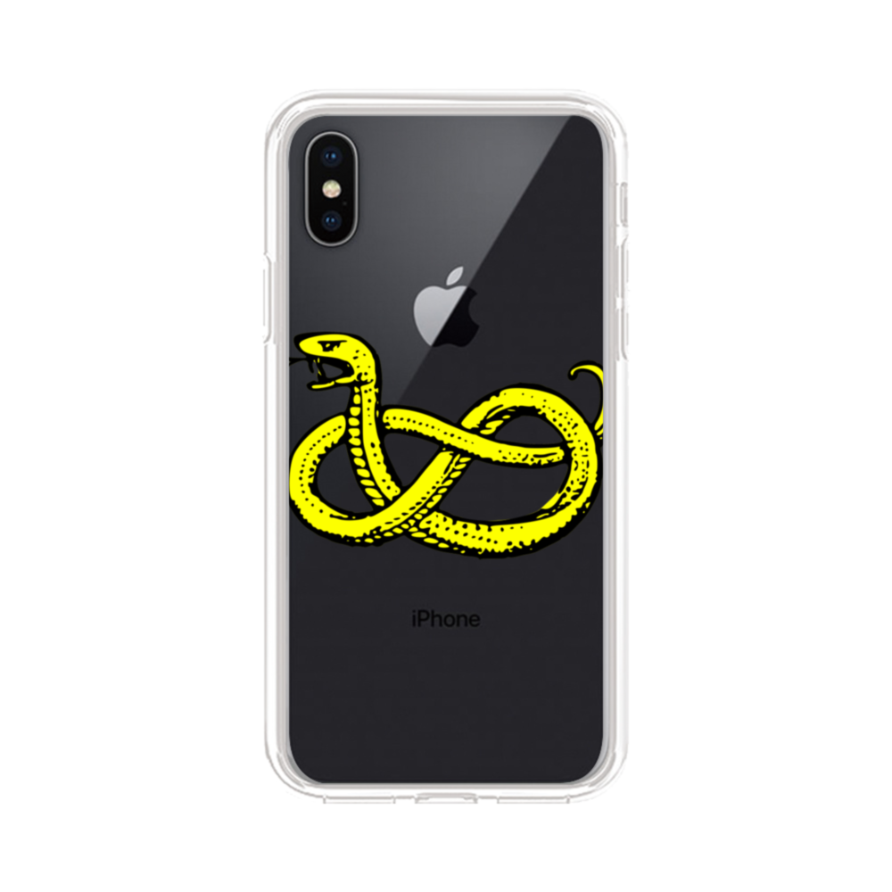 Clipart Of Snake iPhone XS Max Clear Case.