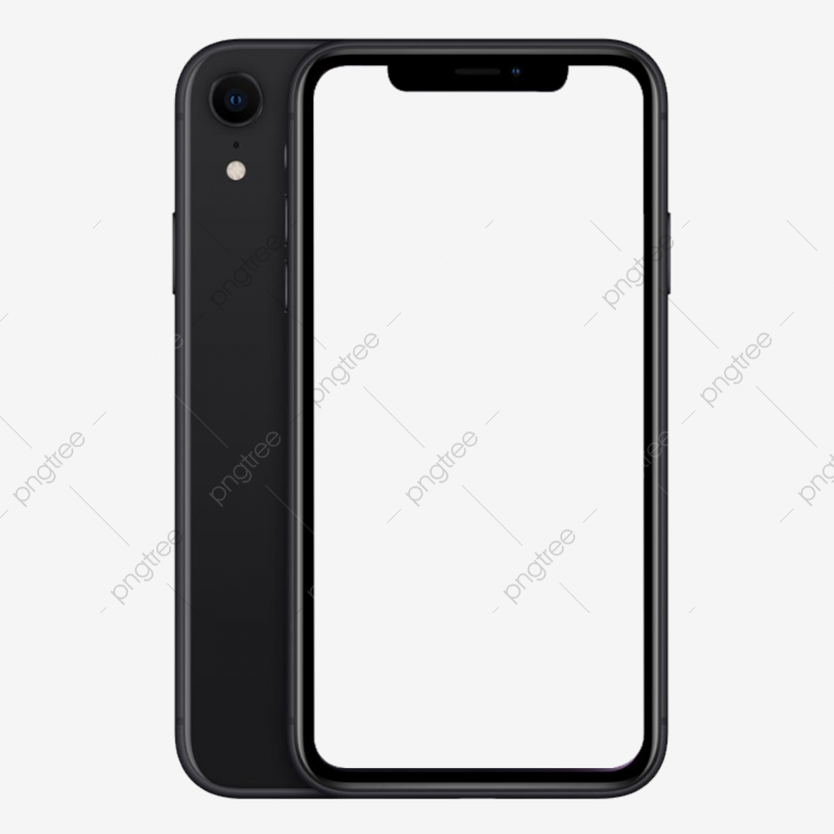 Iphone Xs / Xs Max Jet Black Mockup, Mobile, Phone, Replenishing PNG.
