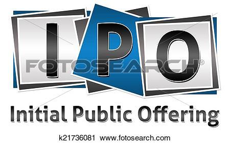 Clipart of IPO Three Blocks k21736081.