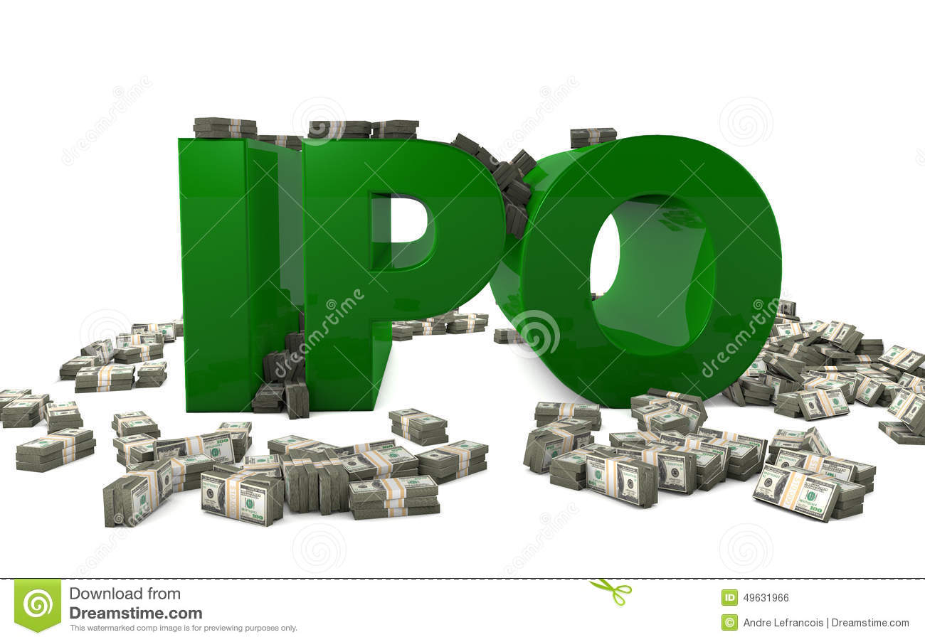 Ipo Stock Illustrations.