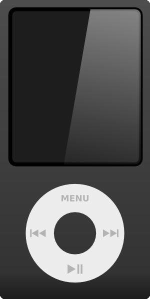 Apple Ipod Clip Art at Clker.com.