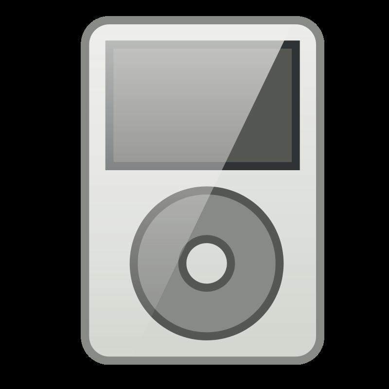 Free Clipart: IPod Tango Icon.