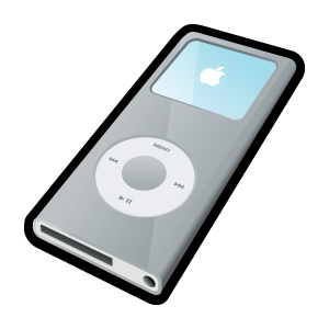 iPod Nano Silver icons, free icons in 3D Cartoon Icons II, (Icon.
