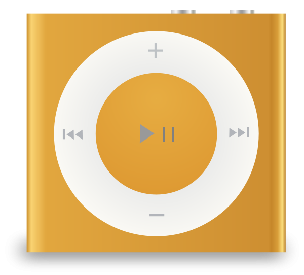 iPod shuffle Clipart, vector clip art online, royalty free design.