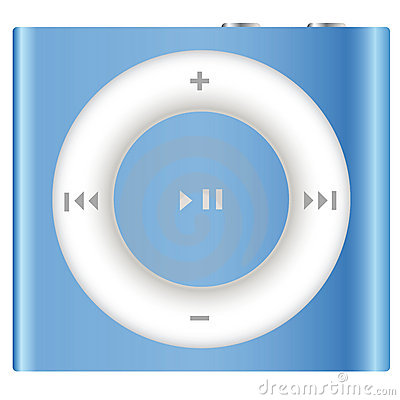 Ipod Shuffle Mp3 Player Editorial Stock Photo.