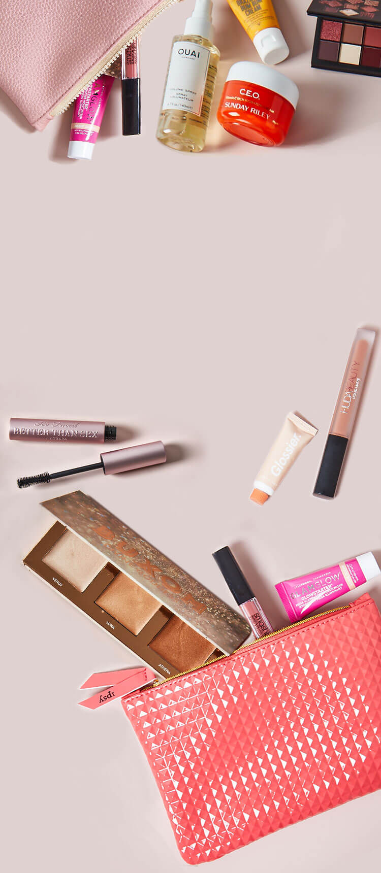 Personalized Monthly Makeup & Beauty Sample Subscription.