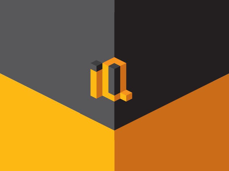 IQ letters logo.