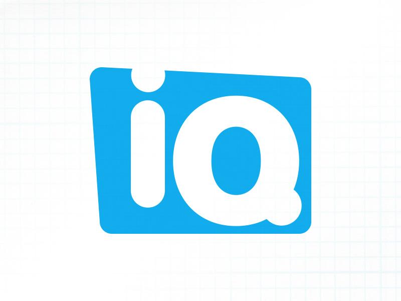 IQ logo by Darren Williams on Dribbble.