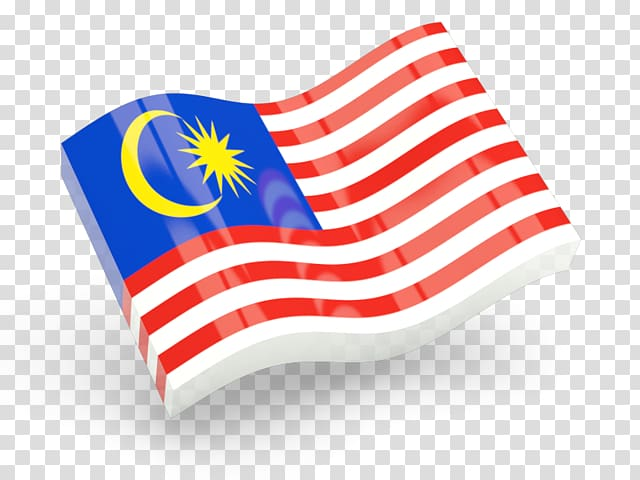 Red, white, and blue flag figurine, Flag of Malaysia.