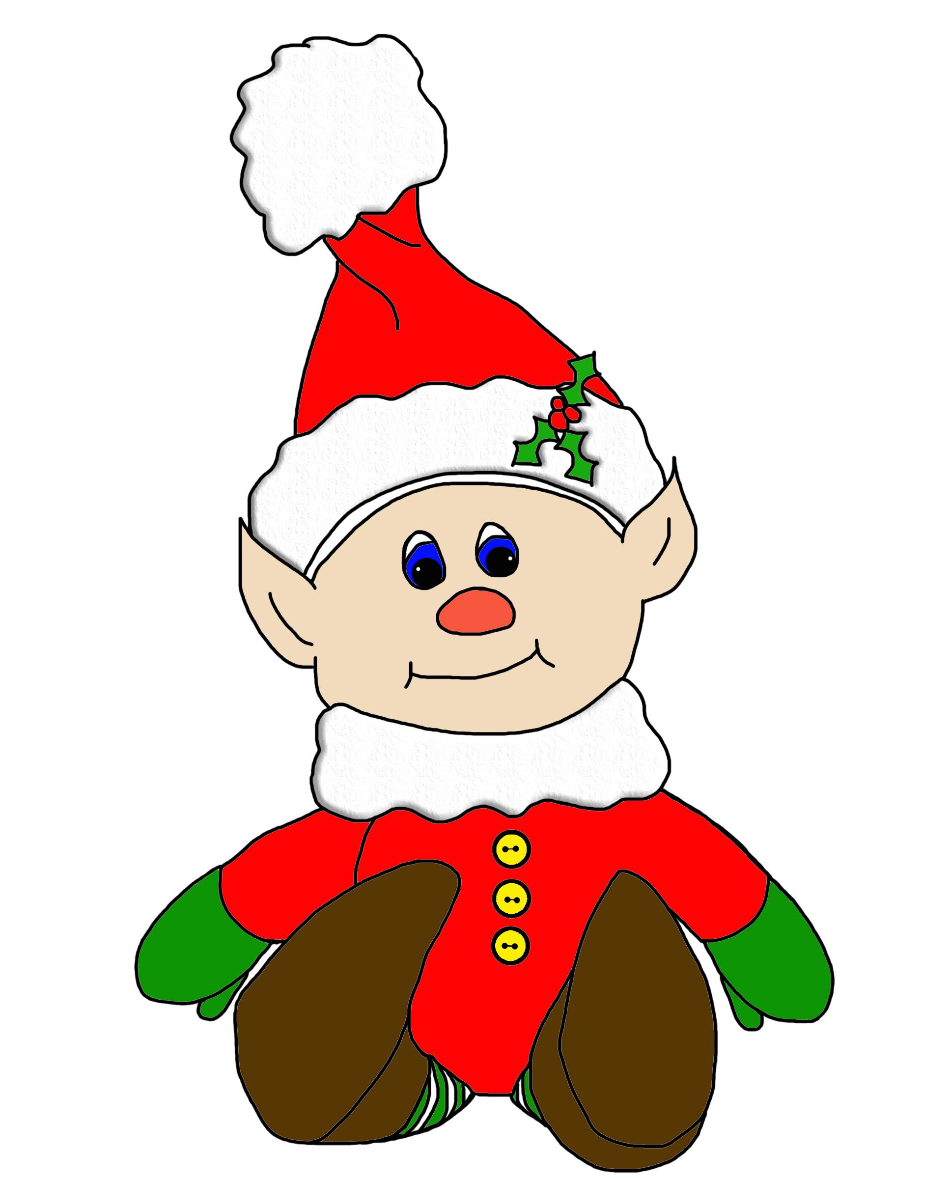 Christmas Elf Image.