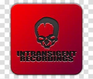 Icon , IR, Intransigent Recordings logo transparent.