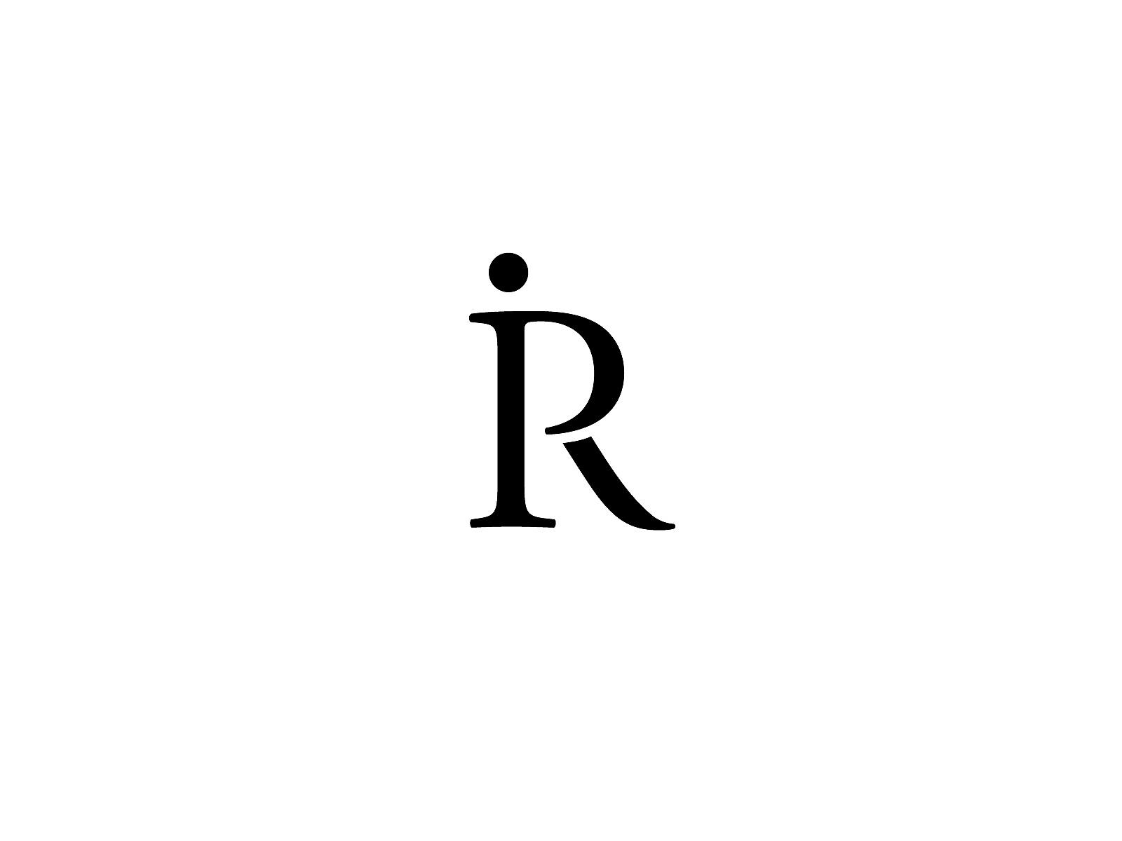 IR Monogram Logo by Tallant Design on Dribbble.