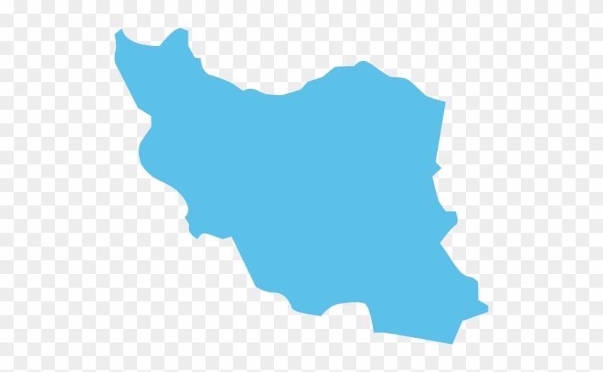 Iran Map Icon Clipart (#3300493).