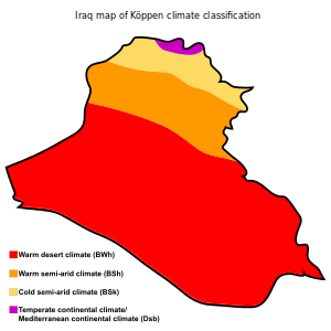 Geography of Iraq.