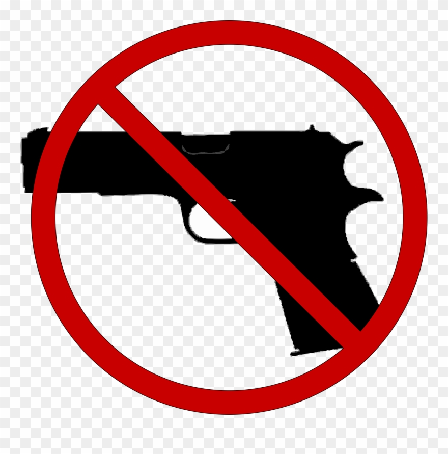No Guns Allowed In The Irc Clipart (#3077924).