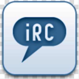 Albook extended blue , iRC logo transparent background PNG.