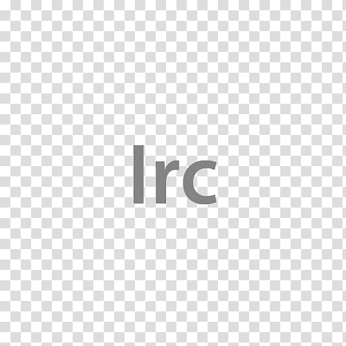 Krzp Dock Icons v , Irc, Irc text transparent background PNG.