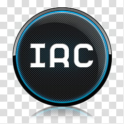 Dock Icon Set rounded, irc transparent background PNG.
