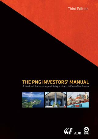 The PNG Investors' Manual (3rd edition) by Business Advantage.