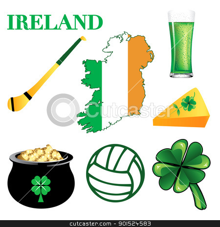 Irish icon clipart.