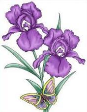 Free Iris Clipart.