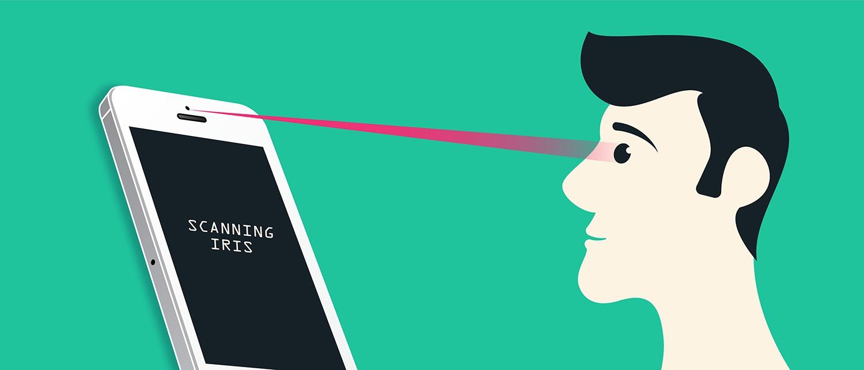 Samsung Iris Scanning vs Eyeprint ID.