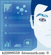 Iris scanner Clip Art Royalty Free. 14 iris scanner clipart vector.