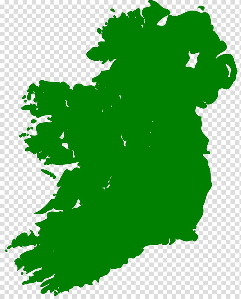 Local Post Co. Outline of the Republic of Ireland Map.