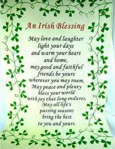 66 Best St. Patrick's Day/Irish Blessings/Sayings/Graphics images in.