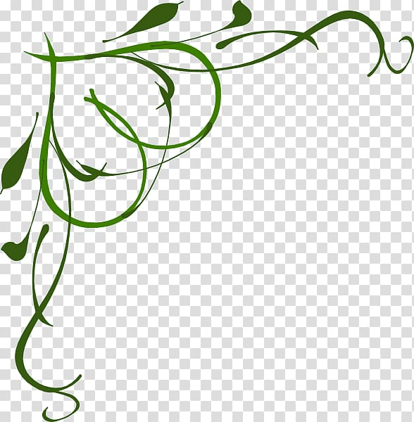 Vine , Irish Borders transparent background PNG clipart.
