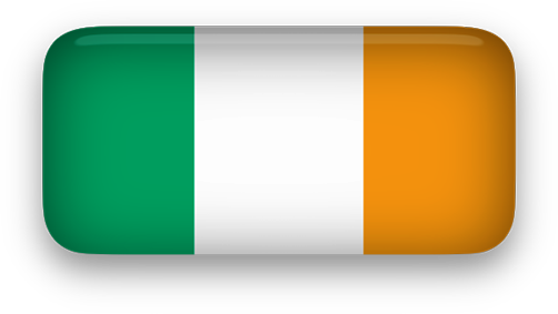 Free Animated Ireland Flags.