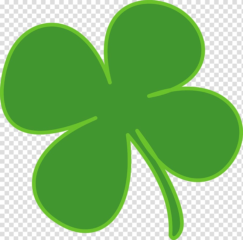 Shamrock Saint Patrick\'s Day , Irish Clover transparent background.