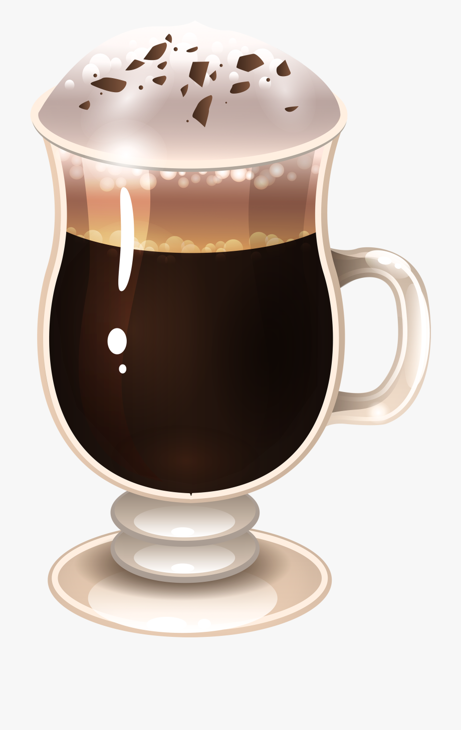 Irish Coffee Clipart.
