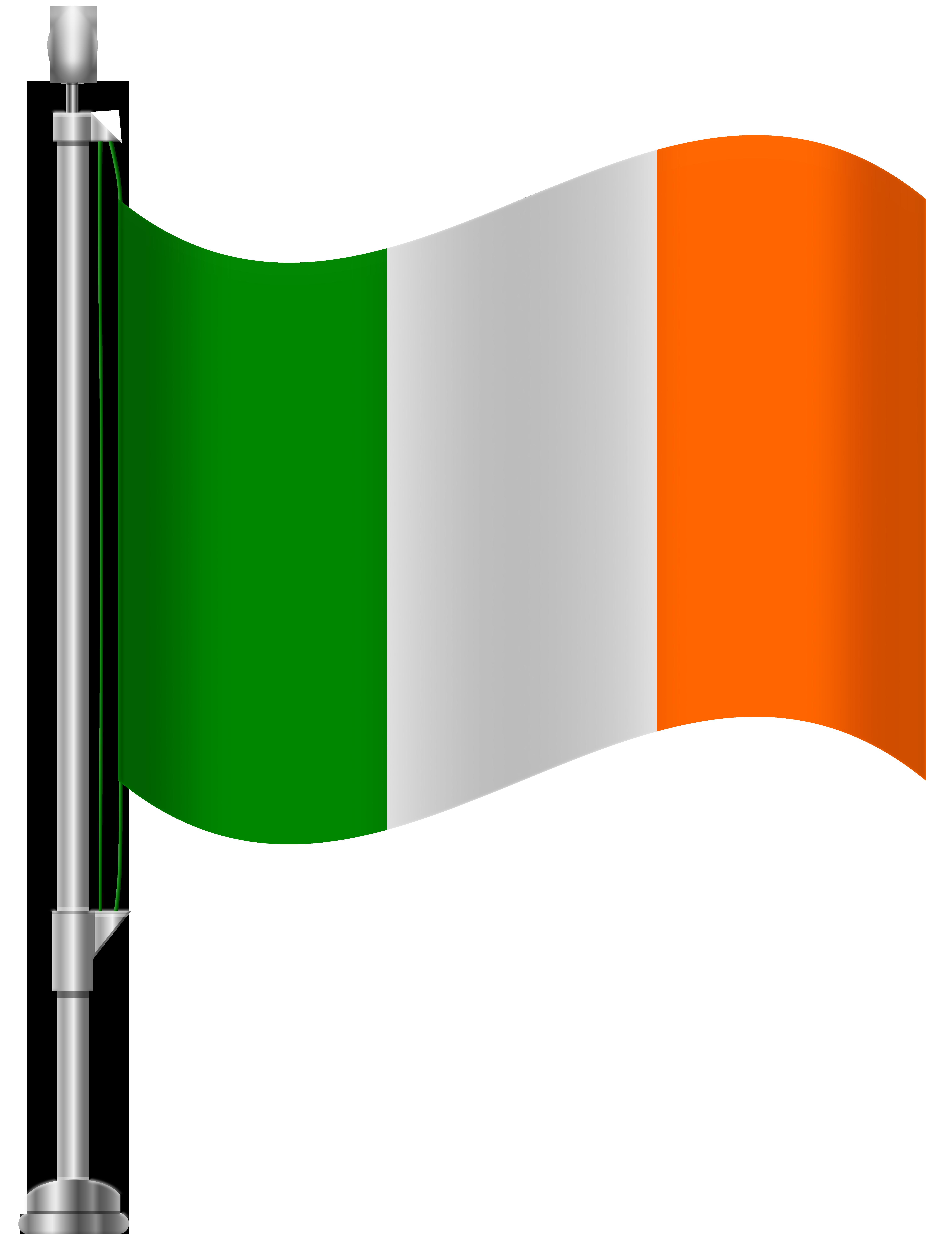Ireland Flag PNG Clip Art.