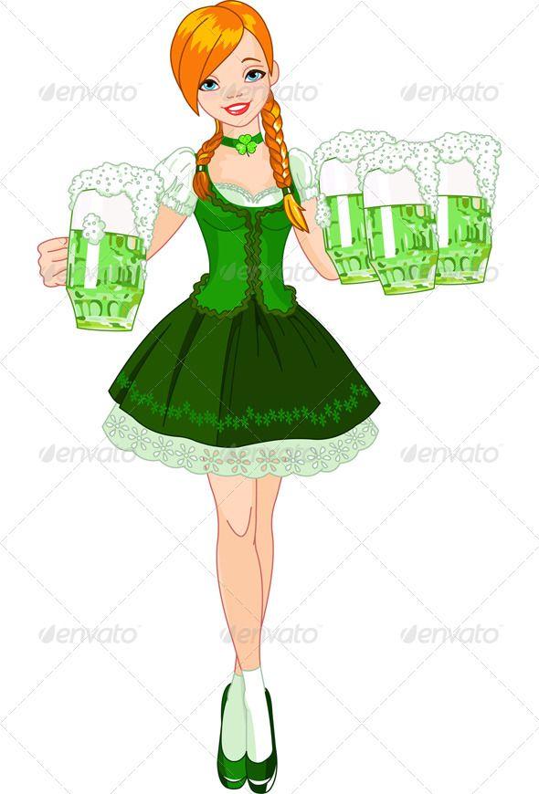Irish girl.