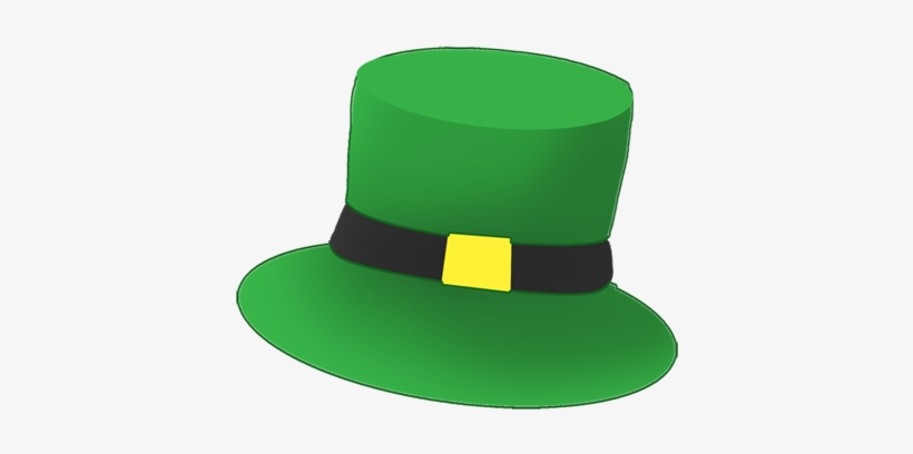 Irish Clipart Leprechaun Hat.