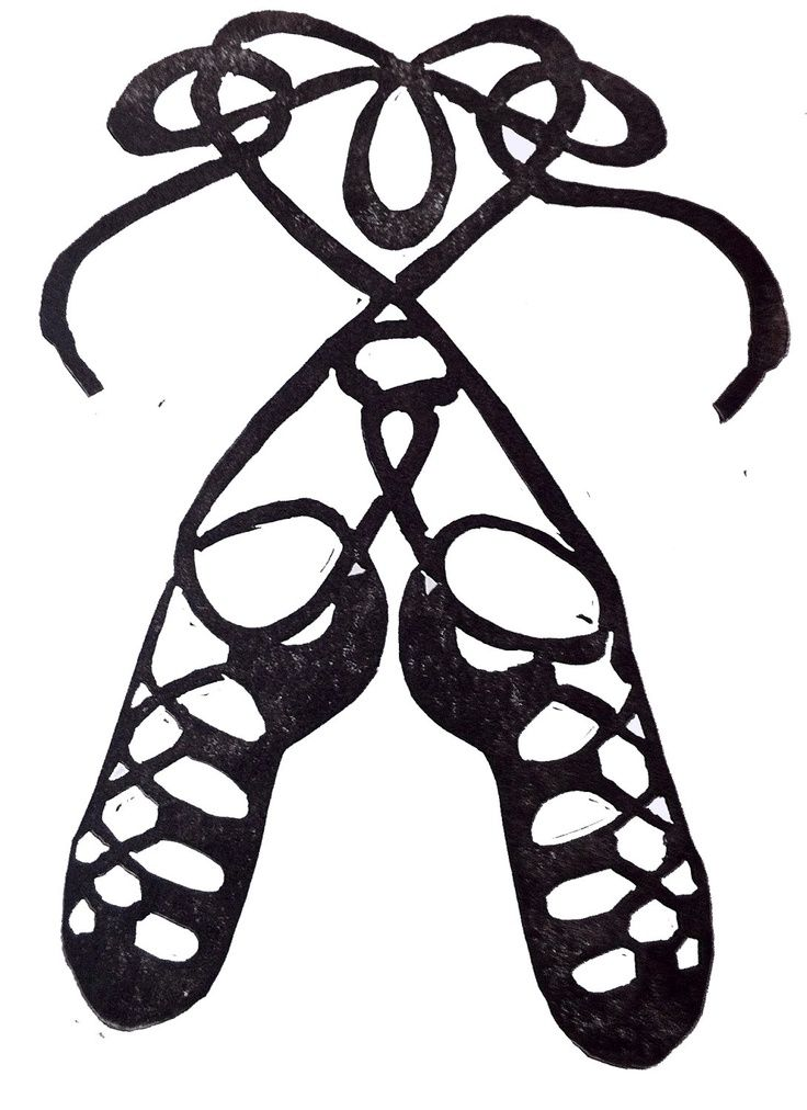 Irish Dance Shoes Clip Art in 2019.